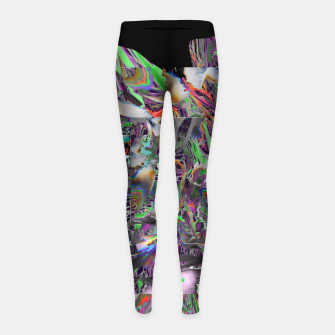Hit hit your fit  Legginsy dziewczęce thumbnail image