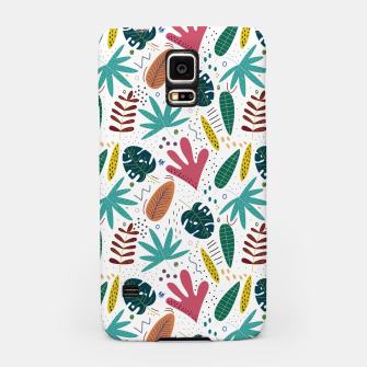 Thumbnail image of Exotic leaves Carcasa por Samsung, Live Heroes