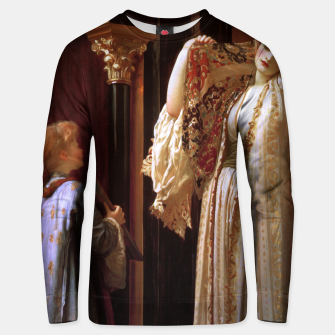 Thumbnail image of Light of the Harem by Lord Frederic Leighton Unisex sweater, Live Heroes