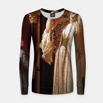 Thumbnail image of Light of the Harem by Lord Frederic Leighton Women sweater, Live Heroes