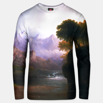 Fanciful Landscape By Thomas Doughty Unisex sweater miniature