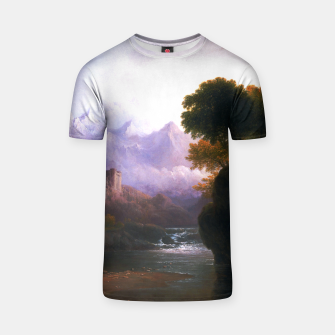 Fanciful Landscape By Thomas Doughty T-shirt miniature