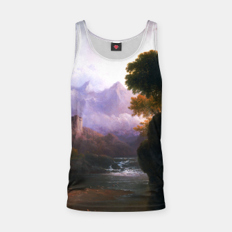 Fanciful Landscape By Thomas Doughty Tank Top miniature