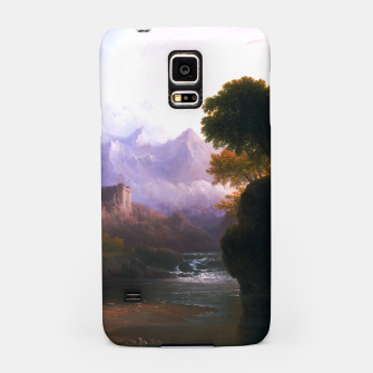 Fanciful Landscape By Thomas Doughty Samsung Case miniature
