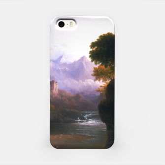 Fanciful Landscape By Thomas Doughty iPhone Case miniature