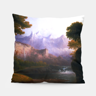 Fanciful Landscape By Thomas Doughty Pillow miniature