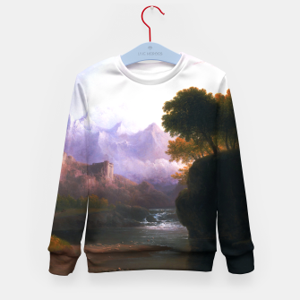 Fanciful Landscape By Thomas Doughty Kid's sweater miniature