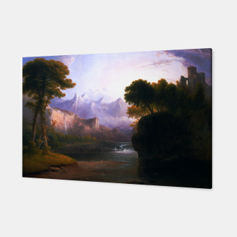 Fanciful Landscape By Thomas Doughty Canvas miniature
