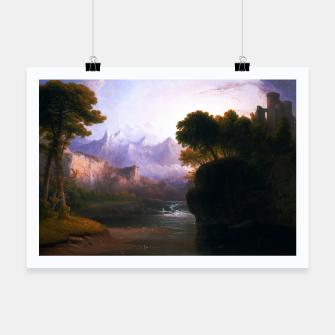 Fanciful Landscape By Thomas Doughty Poster miniature