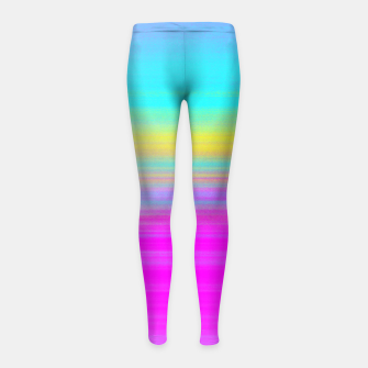 Thumbnail image of ACID C Girl's leggings, Live Heroes