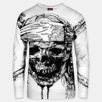 Thumbnail image of Pirate Unisex sweater, Live Heroes