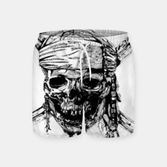 Thumbnail image of Pirate Swim Shorts, Live Heroes
