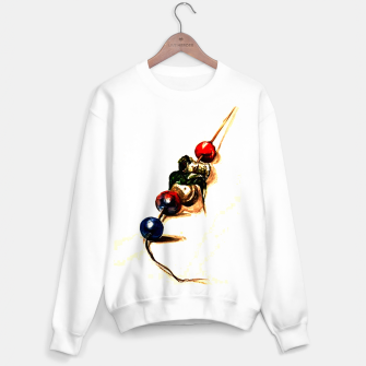 Food surrealism  skewer Yulia A Korneva Sweater regular thumbnail image