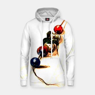 Thumbnail image of Food surrealism  skewer Yulia A Korneva Hoodie, Live Heroes