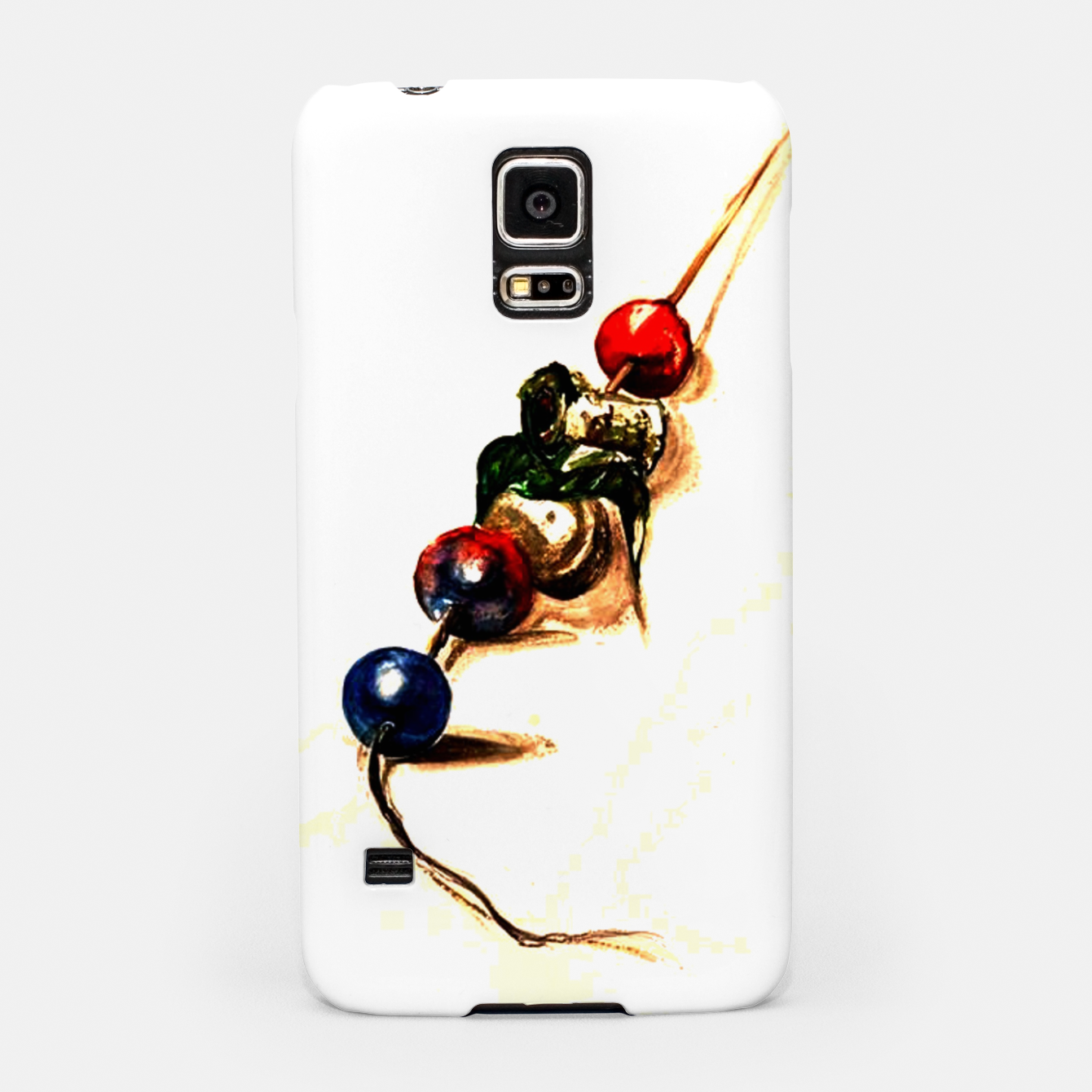 Image of Food surrealism  skewer Yulia A Korneva Samsung Case - Live Heroes