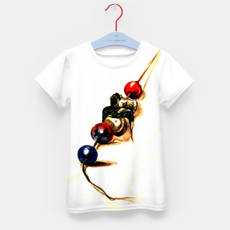 Thumbnail image of Food surrealism  skewer Yulia A Korneva Kid's t-shirt, Live Heroes