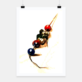 Food surrealism  skewer Yulia A Korneva Poster thumbnail image