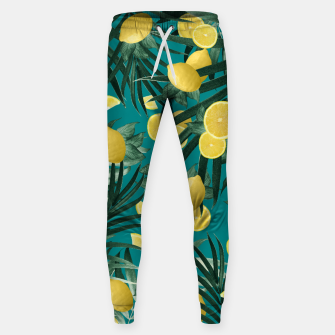 Thumbnail image of Summer Lemon Twist Jungle #5 #tropical #decor #art Hosen, Live Heroes