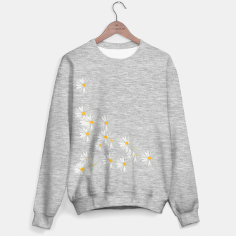 Thumbnail image of daisy flower sunflower minimal Sweater regular, Live Heroes