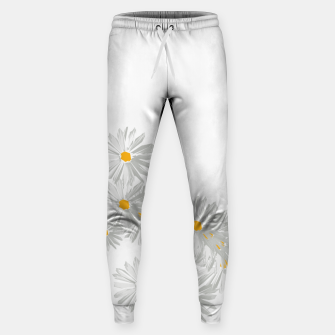 Thumbnail image of daisy flower sunflower minimal Sweatpants, Live Heroes