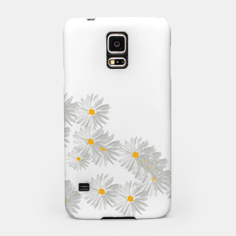 Thumbnail image of daisy flower sunflower minimal Samsung Case, Live Heroes