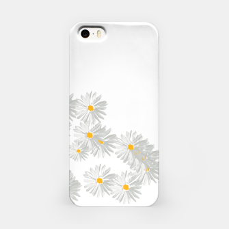 Miniatur daisy flower sunflower minimal iPhone Case, Live Heroes