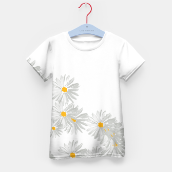 Thumbnail image of daisy flower sunflower minimal Kid's t-shirt, Live Heroes