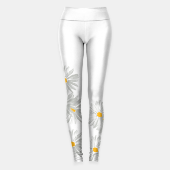 Thumbnail image of daisy flower sunflower minimal Leggings, Live Heroes