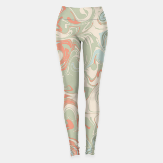 Thumbnail image of Crazy Swirls Leggings, Live Heroes