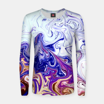 Thumbnail image of Crazy Swirls Frauen sweatshirt, Live Heroes