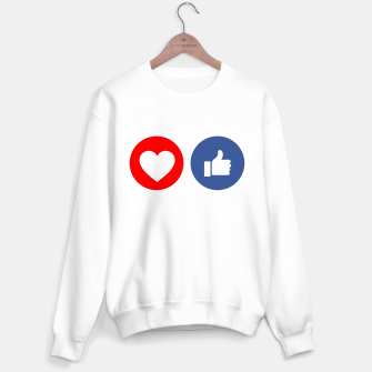 Thumbnail image of Social media share icons showing approval Sweater regular, Live Heroes
