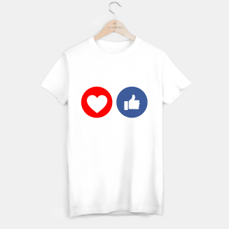 Thumbnail image of Social media share icons showing approval T-shirt regular, Live Heroes