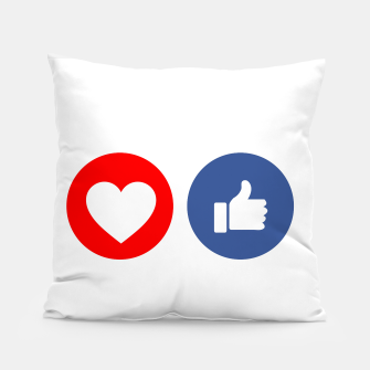 Thumbnail image of Social media share icons showing approval Pillow, Live Heroes