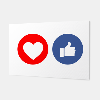 Thumbnail image of Social media share icons showing approval Canvas, Live Heroes