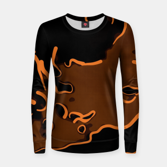 spotted abstract line art 2 abswbi Women sweater thumbnail image
