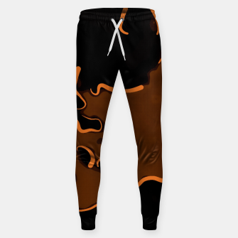 spotted abstract line art 2 abswbi Sweatpants thumbnail image