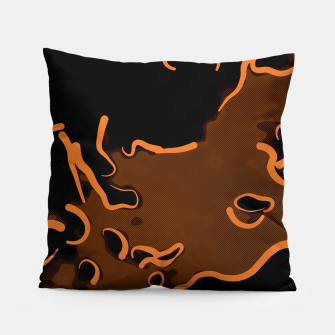 spotted abstract line art 2 abswbi Pillow thumbnail image