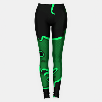 Thumbnail image of spotted abstract line art 2 absmagi Leggings, Live Heroes