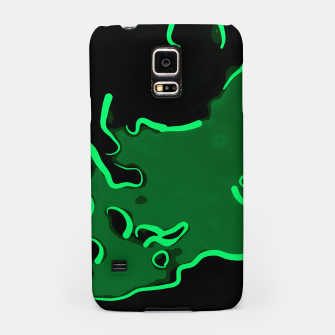 Thumbnail image of spotted abstract line art 2 absmagi Samsung Case, Live Heroes