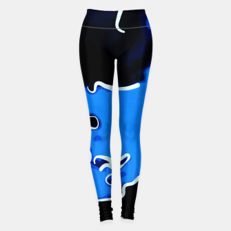 Thumbnail image of spotted abstract line art 2 abseei Leggings, Live Heroes