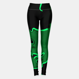 Miniature de image de spotted abstract line art 2 absmagi Leggings, Live Heroes
