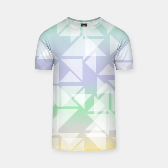 Imagen en miniatura de Colorful triangles composition T-shirt, Live Heroes