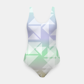 Imagen en miniatura de Colorful triangles composition Swimsuit, Live Heroes
