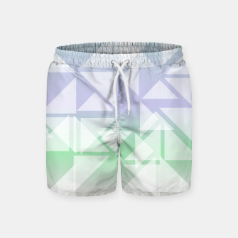 Imagen en miniatura de Colorful triangles composition Swim Shorts, Live Heroes