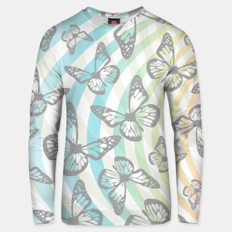 Butterflies and swirls  Unisex sweater thumbnail image