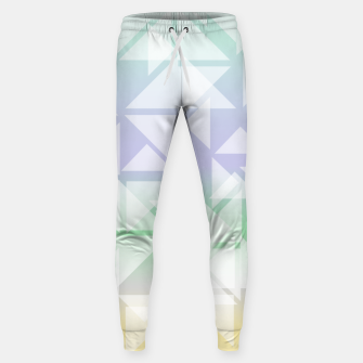 Imagen en miniatura de Colorful triangles composition Sweatpants, Live Heroes