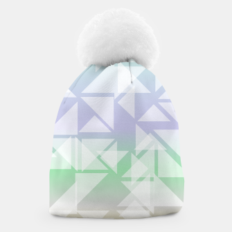 Imagen en miniatura de Colorful triangles composition Beanie, Live Heroes