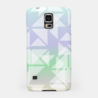 Imagen en miniatura de Colorful triangles composition Samsung Case, Live Heroes