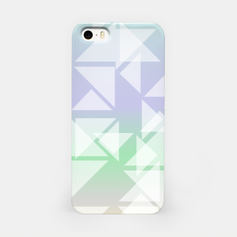 Imagen en miniatura de Colorful triangles composition iPhone Case, Live Heroes