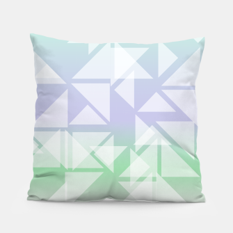 Imagen en miniatura de Colorful triangles composition Pillow, Live Heroes